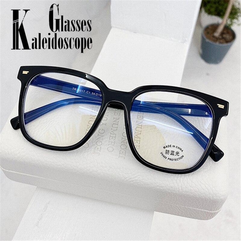 Gafas de ordenador Vintage para hombre, gafas de protección contra luz azul, montura Retro para mujer, gafas de protección contra bloqueos de rayos azules, gafas claras