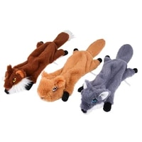 zabawki dla psa chew fleece toys for dogs puller for dog interactive toys funny products squeak pet wolf plush sound squeaky