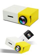 1 ensemble Portable Mini projecteur 3D HD LED Home cinéma cinéma 1080P AV USB HDMI ménage mini projecteur