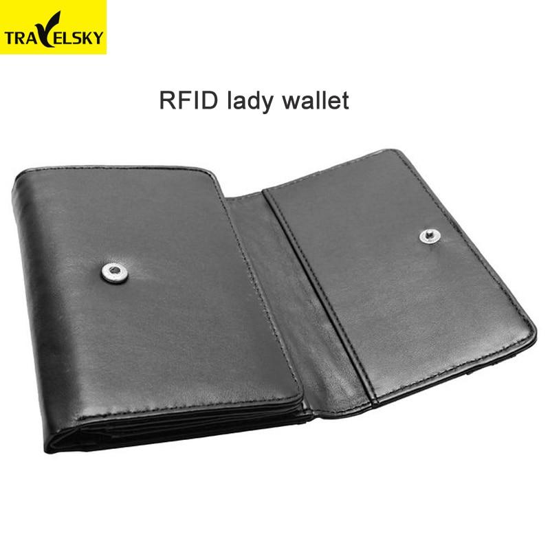 Женский кошелек RFID с несколькими экранами, искусственная кожа, модный полезный кошелек, есть 3 вида цветов Бесплатная доставка от 1 шт. 13587A