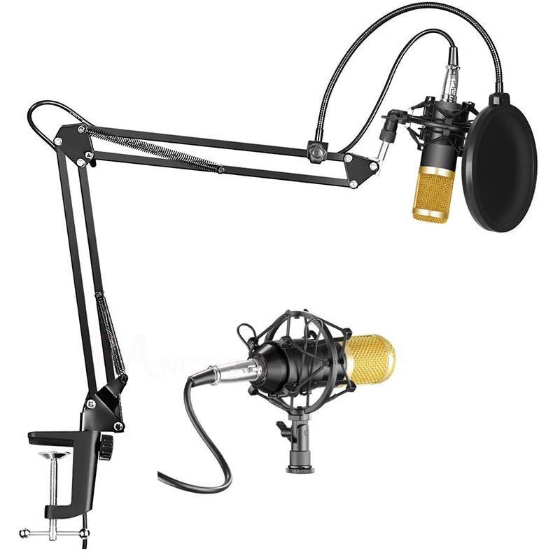 BM800 микрофон для караоке студийный конденсатор mikrofon KTV BM 800 микрофон для радио braodcast Пение Запись компьютера bm-800