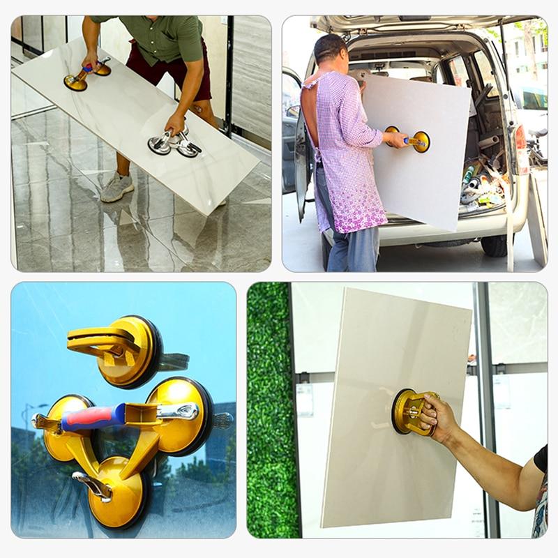 Купить с кэшбэком Big Size Metal Alloy Car Dent Repair Removal Puller Suction Cup Floor Tiles Glass Repair Removal Tools Body Panel Suction