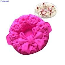Moule à gâteaux en Silicone avec motif dnœud   Moule à gâteaux de Fondant, outils de cuisson de noël, moule à Biscuit à chocolat, moule de noël, outils de décoration de gâteaux