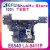 VALA0 LA-9411P POUR Dell Latitude E6540 Ordinateur Portable Carte Mère HM87 PGA947 DDR3L HD 8790M 2 GO
