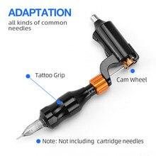 Atomus 1pc Tattoo Gun L Shape Machine Maquina De Tatuagem Tattoo Motor Hybrid Tattoo Pen Professional Rotary Tattoo Machine Gun