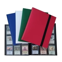 Big 360 Capacity Cards Holder Albums with 20 Page Black for Board Game Star Celebrity Photo Collect Album Book Sleeve Holders