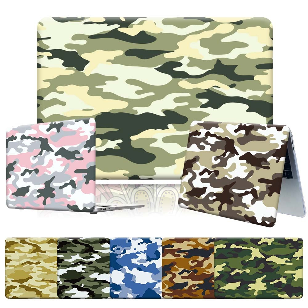 New Camouflage Series Laptop Case for Apple Macbook Air 11 13 Inch/Pro 13 15 16 Inch Scratch Resistant High Quality Hard Case