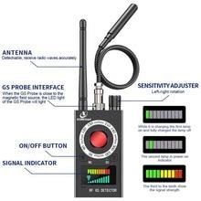 K18 détecteurs de caméra cachés détecteur de Signal RF détecteur de bogue sans fil détecteur de caméra hôtel Anti GPS Tr