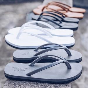 Women Summer Sandals PU Leather Girls Beach Flip Flops Ladies Fashion Flat Shoes Slippers Soft Sole Female Slip On Sandalias