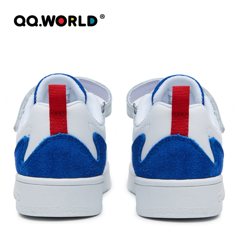 QQ WORLD 2021 New Little and Big Children Sport Shoes Outdoor Running Footwear Velcro Design is Convenient and Comfortable enlarge
