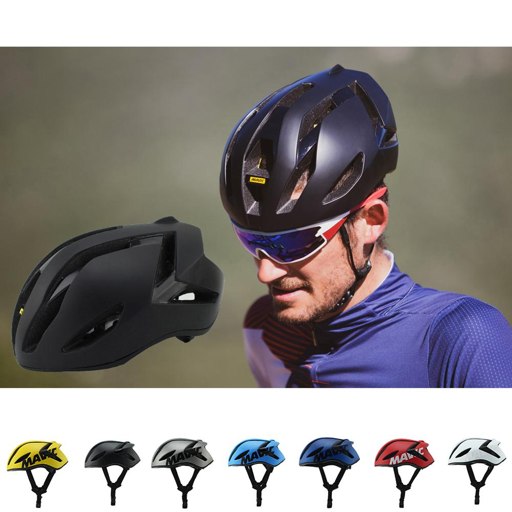 MAVIC-Casco para ciclismo ultraligero, de seguridad, aerodinámico, para montar en bici de...