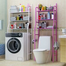 3 Tier Shelf Over Home Kitchen Bathroom Storage Rack Multifunction Toiletries Shelves for Bathroom Organizer Accessories