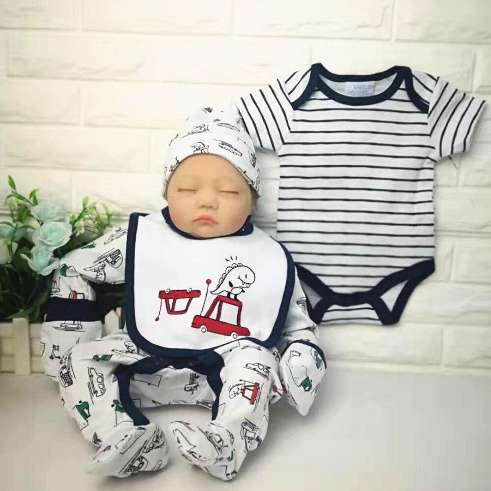 baby dress set 5pcs new born  baby clothes infant 100%cotton baby romper set