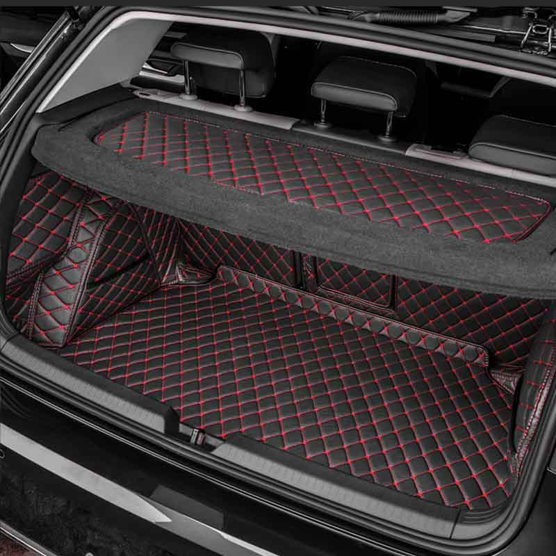 For Volkswagen VW Golf 8 MK8 2021 2020 Car All Inclusive Trunk Mats Cargo Liner Car Pad Full Cover Case Carpet Rug Accessories enlarge