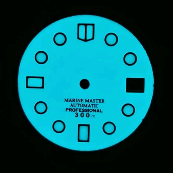 Seiko0-ملحقات ساعة SKX007/009/أذن البحر/ملم صغير/SRP775/777 ، قرص بديل