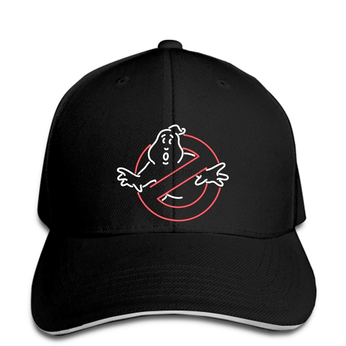 Cazafantasmas (cazafantasmas fantasma) para hombre gorra de béisbol estilo neón sin logotipo fantasma imagen snapback sombrero pico