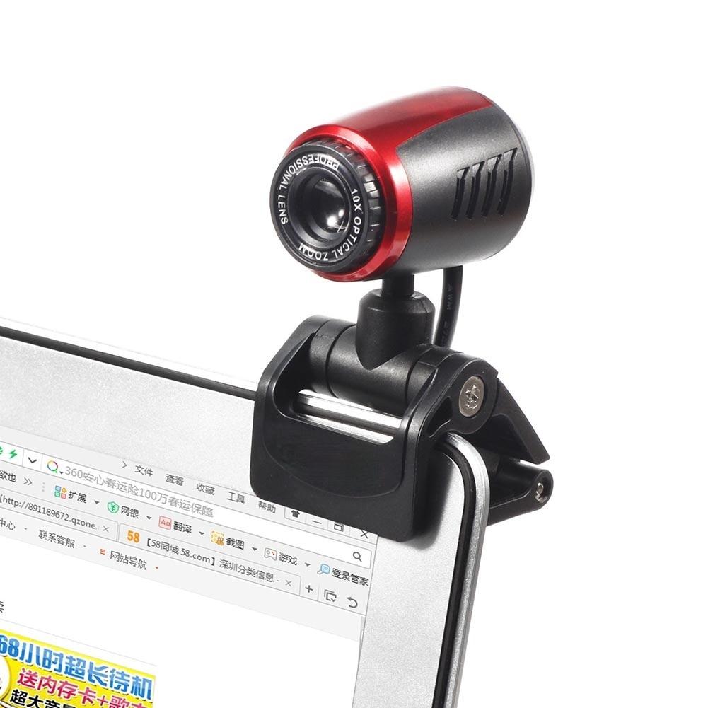Фото - HD Webcam with Built-in Microphone USB Driver Free Computer Web Camera for Windows 10 8 7 XP Work Home windows web