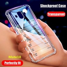 For Huawei Mate 10 LITE Case Transparent Shockproof Case For Huawei Mate 20 10 30 Lite Pro Honor 8 9