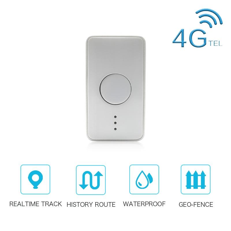 4G Geo-fence Dog Collar GPS Tracker Pet Waterproof Mini Cattle Sheep Tracking Locator GSM AGPS Wifi LBS Anti-Lost Device Monitor