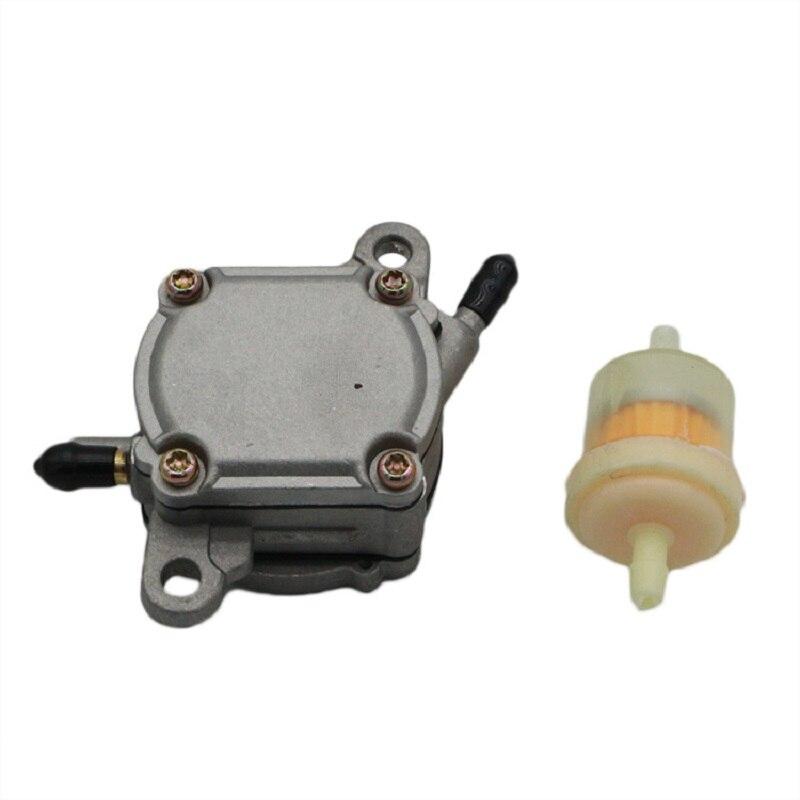 Вакуумный газовый топливный насос переключатель для 50cc 80cc 110cc 125cc 125cc 250cc вездеход масло для скутеров насосы смазки Системы Запчасти