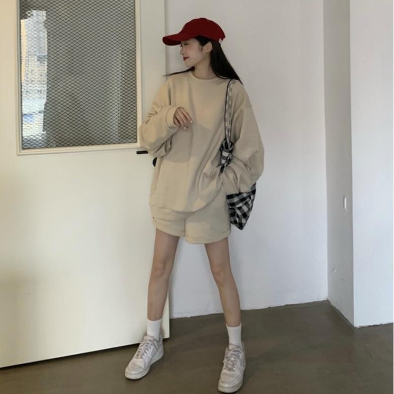 Cheap wholesale 2021 spring summer autumn new fashion casual women 2pieces set suit woman female Plus big size OL BAy9548