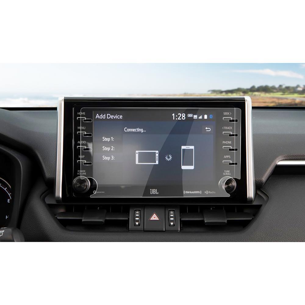 RUIYA автомобильный навигационный экран протектор Toyota RAV4 5-го Центрального управления экран дисплея, Закаленное стекло Защитная пленка экрана