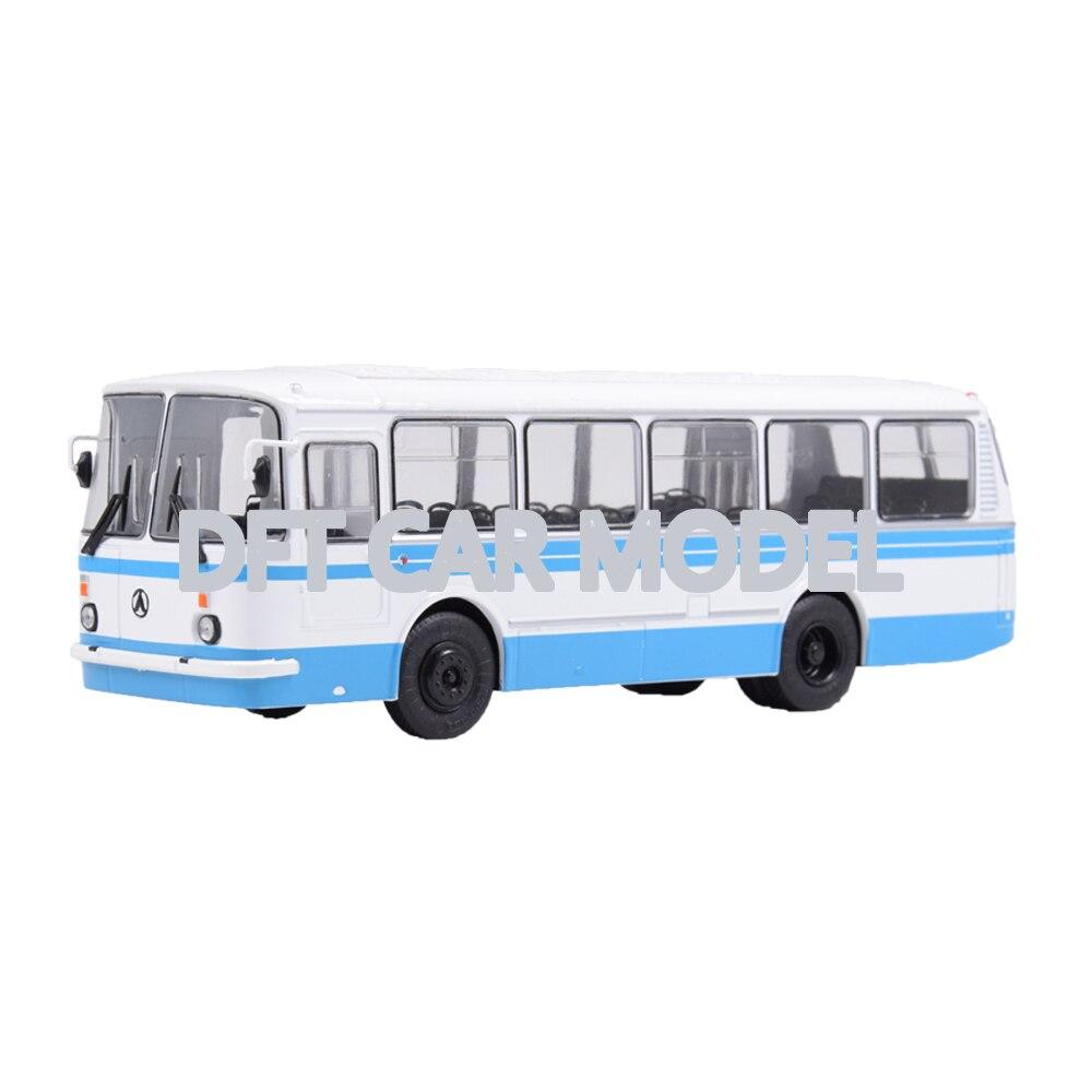 143 Escala de aleación de juguete MODELO DE LAZ-69N de juguete para niños modelo de autobús de juguete Original autorizado auténtica colección de niños