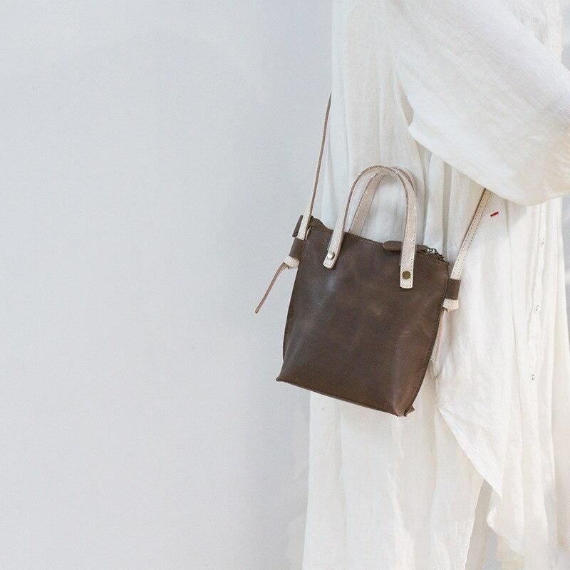 الطبقة الأولى جلد البقر جودة سيدة الموضة حقيبة يد حقيبة عبر الجسم