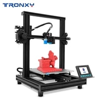 new upgraded tronxy xy 2 pro fast assembly 3d printer auto leveling continuation print power filament sensor 3 5touch screen