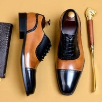 autumn winter all match cowhide casual shoes mens men dress shoes high quality genuine leather mens business men shoes