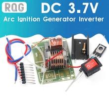 15KV Ad Alta Frequenza DC Ad Alta Tensione Dell'arco di Accensione Generatore Inverter Boost Step Up 18650 Kit FAI DA TE U Nucleo del Trasformatore Suite 3.7V