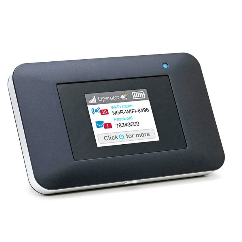 NETGEAR Mobile Wi-Fi Hotspot, 4G LTE Router AC797-100NAS, 400Mbps Download Speed, Connect Up to 15 Devices, Create a WLAN Anywhe enlarge