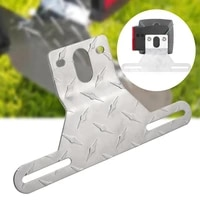 high quality aluminum car trailer truck license plate light bracket holder mount car modified accessories tools