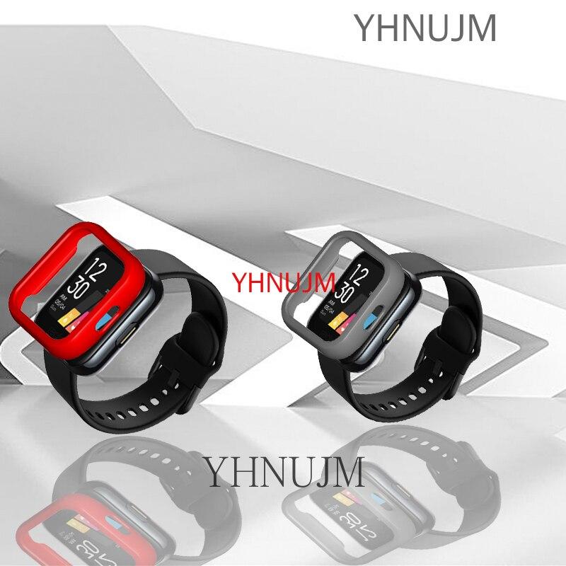 2 упаковки часов Realme, чехол для ПК, жесткий защитный чехол, чехол Realme band, чехол для смарт-часов, защитный чехол, аксессуары для часов чехол