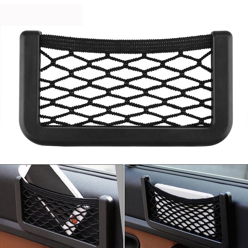Seat Side Car Storage Net Bag Organizer For VW Golf 4 7 6 5 Volkswagen Polo Passat B5 B6 Skoda Octavia A7 A5 Rapid Fabia Superb