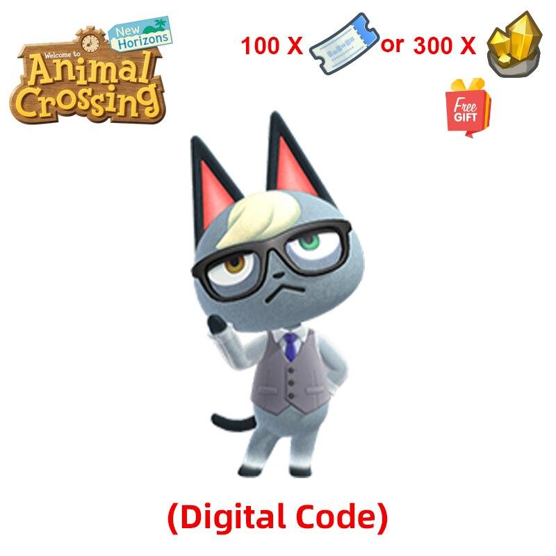 Raymond/Judy/Audie Animal Crossing New Horizons Online recharge service [цифровой код] не поддерживает возврат средств! Карта не Amiibo
