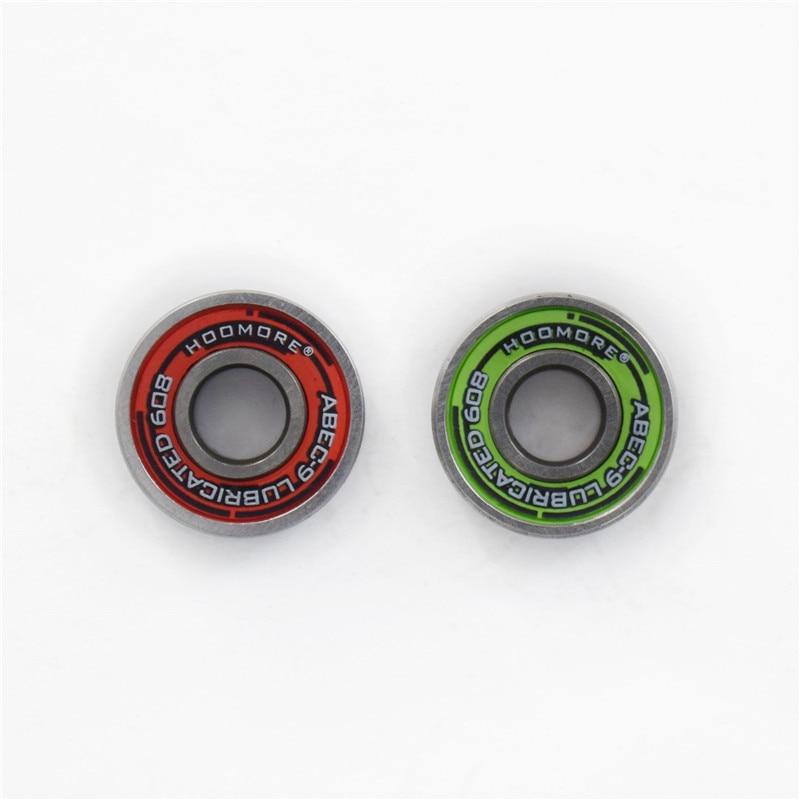 Geschmiert ABEC-9 Skateboard Lager 608 Skate Bord Driftboard Inline Skates Roller Patines ILQ9 für SEBA Twincan 8 stücke