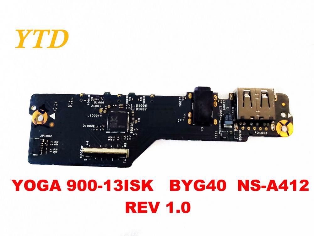 الأصلي لينوفو اليوغا 900-13ISK USB مجلس الصوت مجلس اليوغا 900-13ISK BYG40 NS-A412 REV 1.0 اختبار جيد شحن مجاني