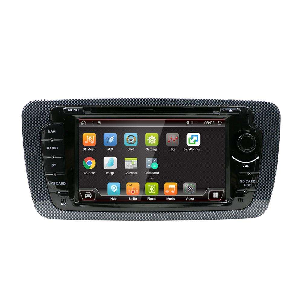 "Radio para coche Android 9,0 PX6 de 7 "", para Seat Leon 2008-2013 Ibiza 2008 + Audio 2 Din 8 Core 4 + 64G, reproductor Multimedia estéreo para coche"