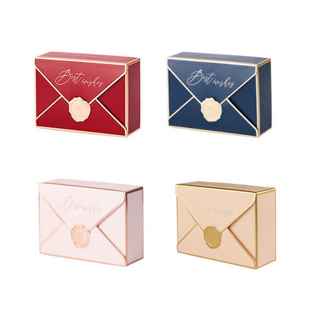 DoreenBeads винтажные бумажные подарочные упаковочные и отгрузочные коробки прямоугольные для свадебной вечеринки шкатулка 10,5 см x 7 см, 10 шт.