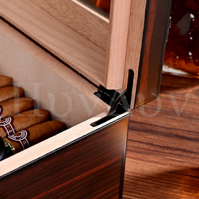 Cedar box humidifier the humidifier box cla-20eaa can hold about 50 cigars enlarge