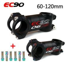 EC90 31.8 VTT tiges carbone 6/17 degrés tige courte vélo Sterm 60-120mm vélo Accesorios guidon tiges