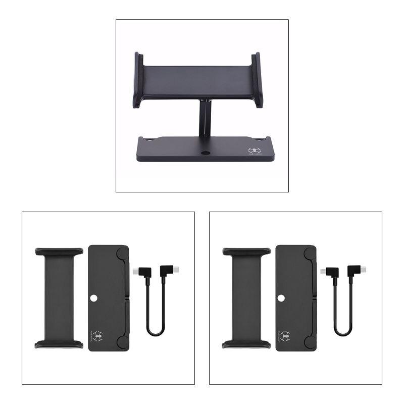 Soporte extensible para Tablet, soporte ajustable para iPad, USB/Cable de datos tipo-c para D-JI Mavic Air 2, mando a distancia