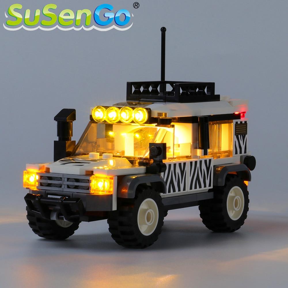 SuSenGo LED Light kit For 60267 CITY Series Safari Off-Roader , (Model Not Included)