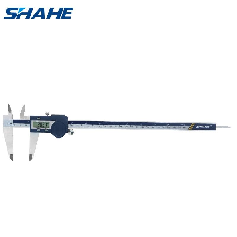 SHAHE فرجار رقمي 300 مللي متر الفولاذ المقاوم للصدأ الإلكترونية الرقمية الورنية الفرجار 0.01 مللي متر Paquimetro الرقمية 300 مللي متر