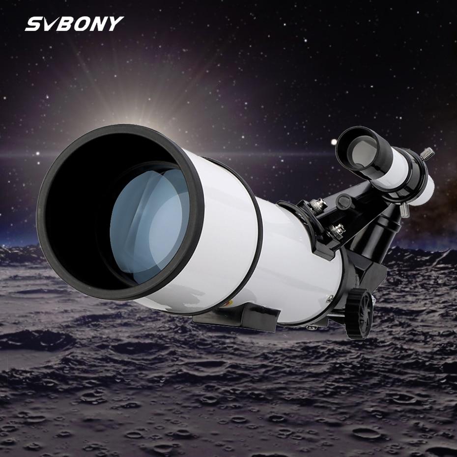 Svbony sv501 70 mm telescópio astronômico monocular lua observação de aves crianças adultos astronomia iniciantes, sem tripé no pacote