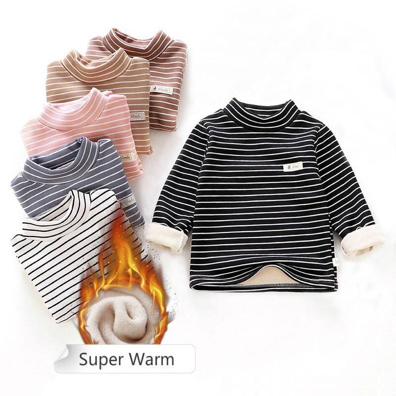 aliexpress.com - Toddler boys girls Sweatshirts Warm Autumn Winter Coat Sweater Baby Long Sleeve Outfit Tracksuit kids shirt cheap clothes 2020