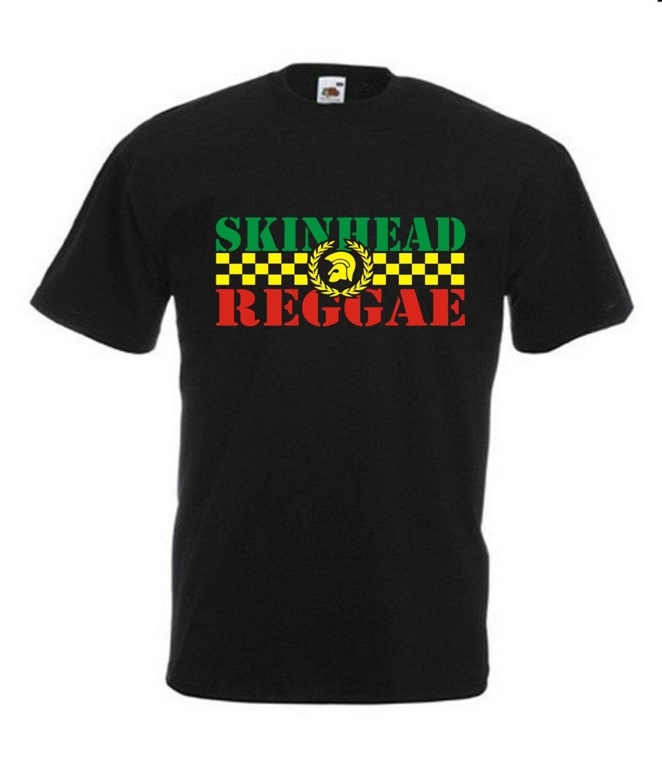 Camiseta tamanho menino rude/skinhead/ska/rocksteady/reggae/trojan