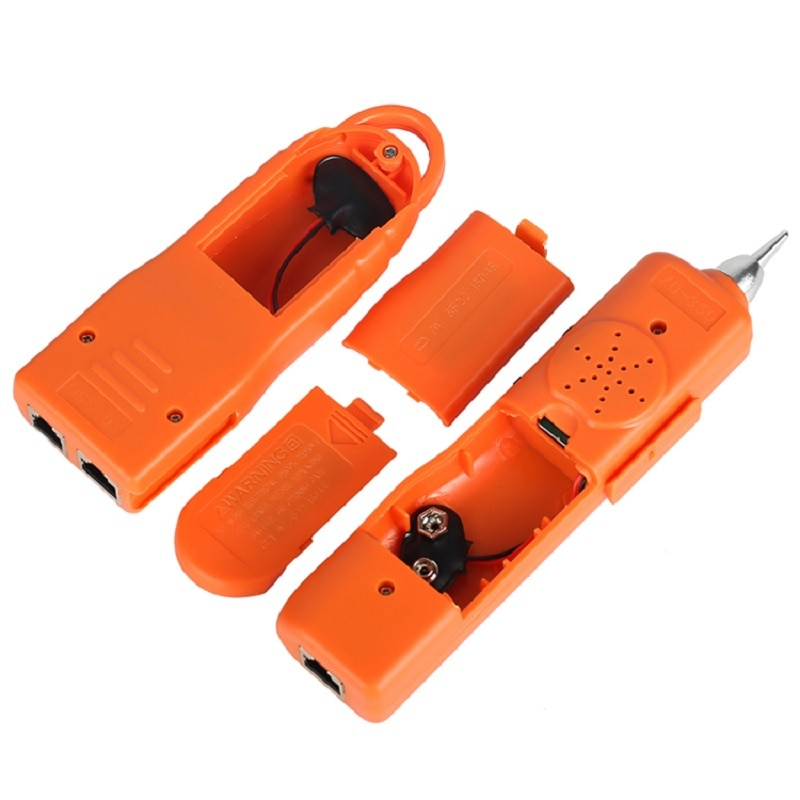 LAN Network Cable Tester STP UTP Cat5 Cat6 RJ45 RJ11 Detector Line Finder Telephone Wire Tracker Diagnose Tone Tracer enlarge