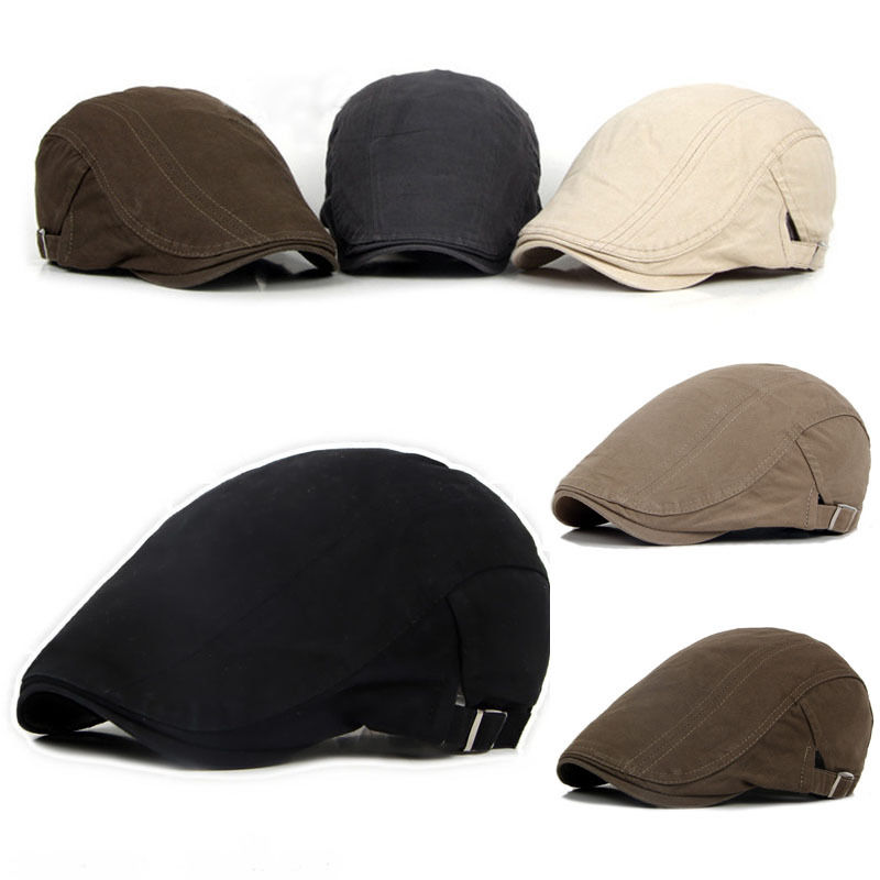 Мужские шапки-береты кепки для гольфа для вождения Солнца кепки газетчика кепки для мужчин Модная Повседневная Кепка кепки